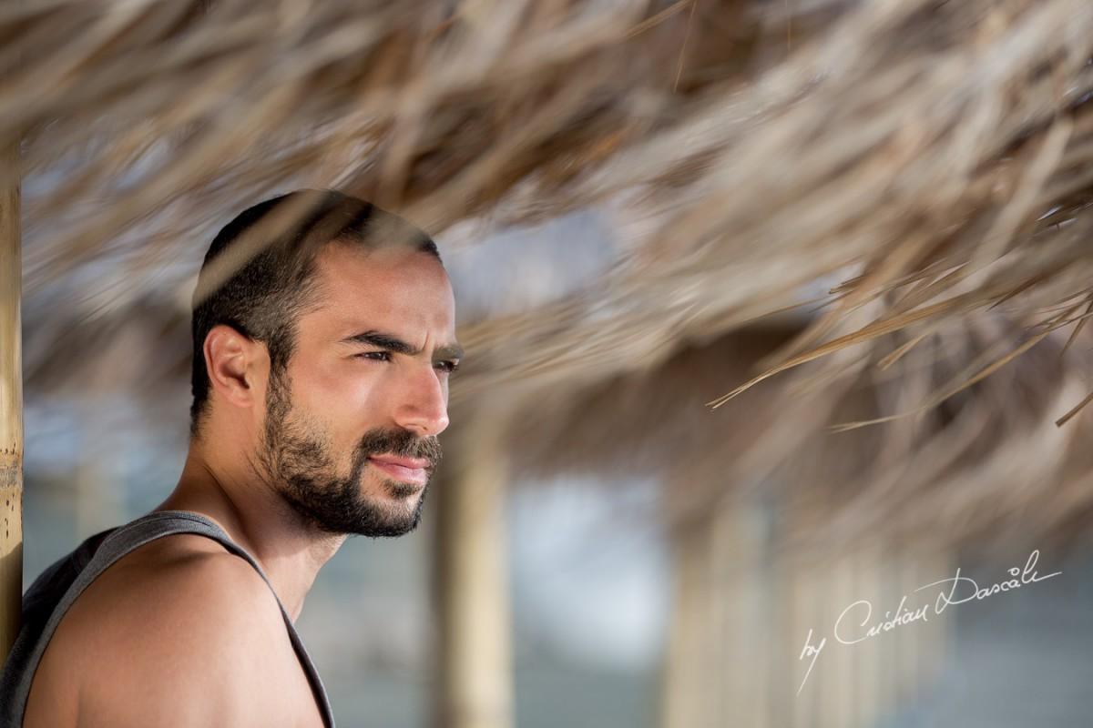 Model Photo-shoot at Saint Raphael Beach   Striking Hassan