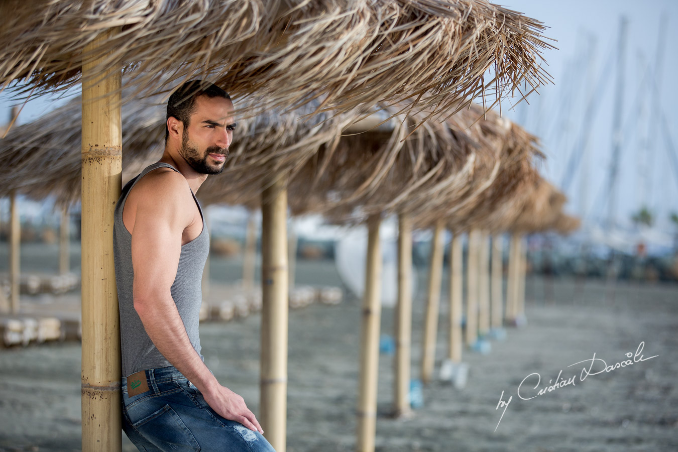 Model Photo-shoot at Saint Raphael Beach - 07