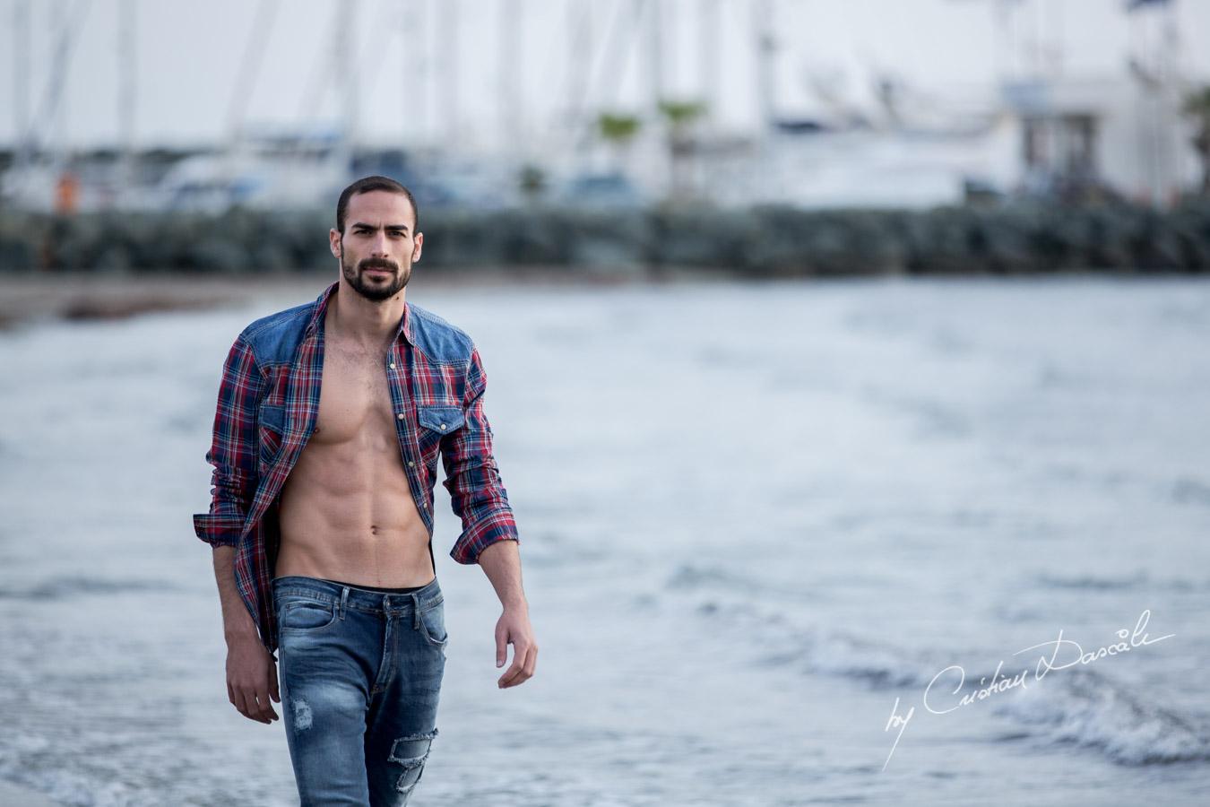 Model Photo-shoot at Saint Raphael Beach - 11