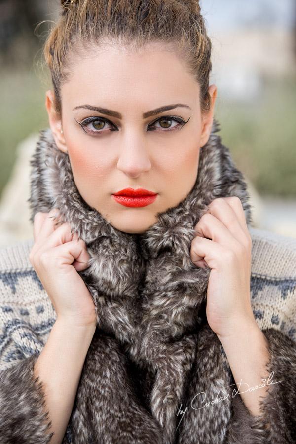 Gorgeous Model Themis posing for photographer Cristian Dascalu.