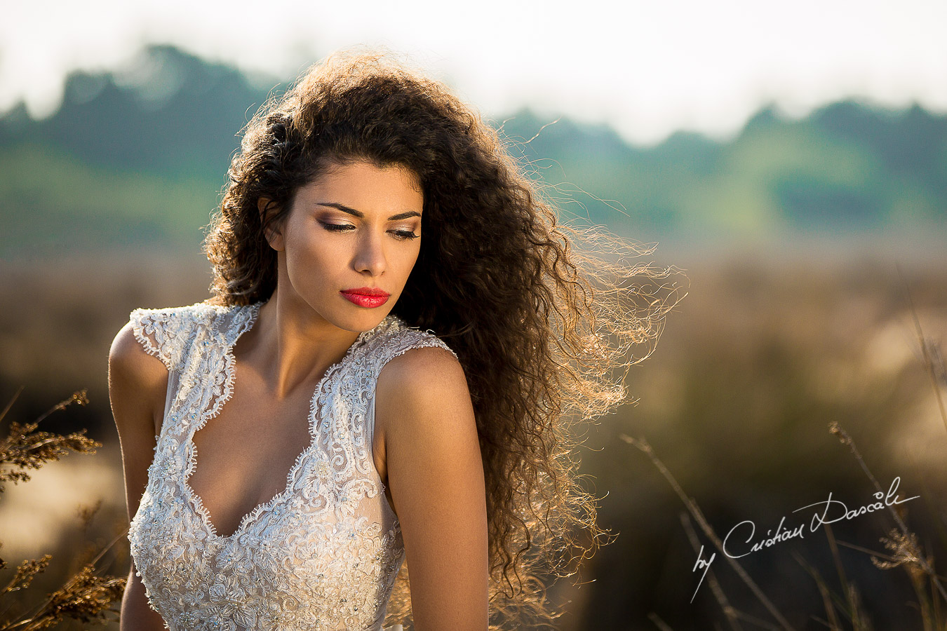 Wedding Editorial in Akrotiri Wedding Designer Litous Model Alice - 04
