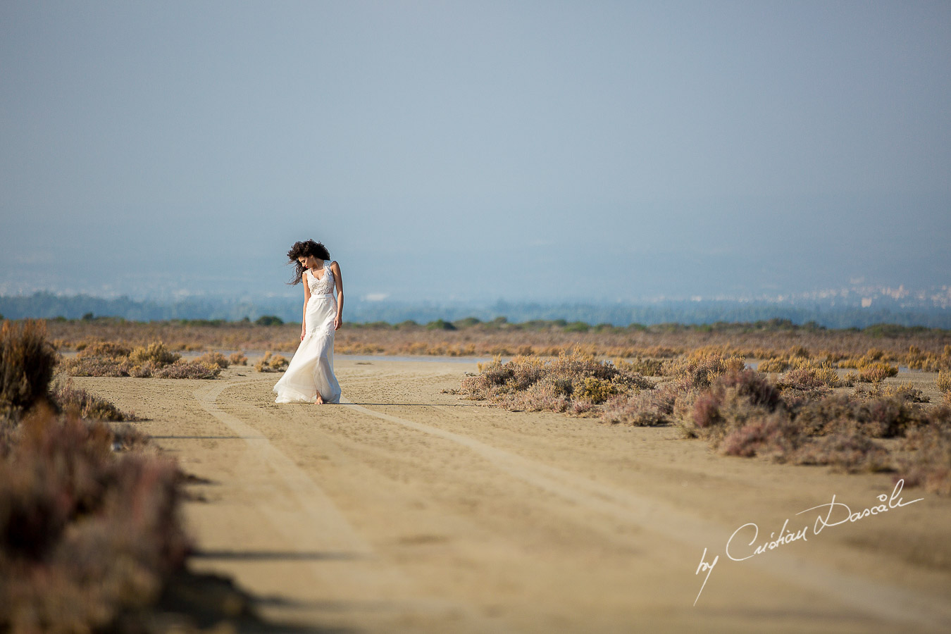Wedding Editorial in Akrotiri Wedding Designer Litous Model Alice - 08