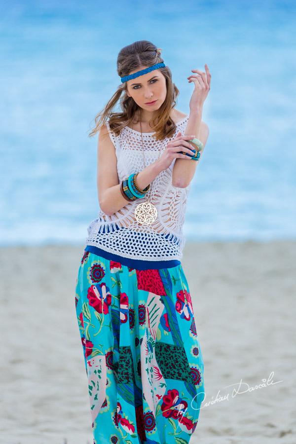 Bohemian Style with Anastasia at Nissi Beach