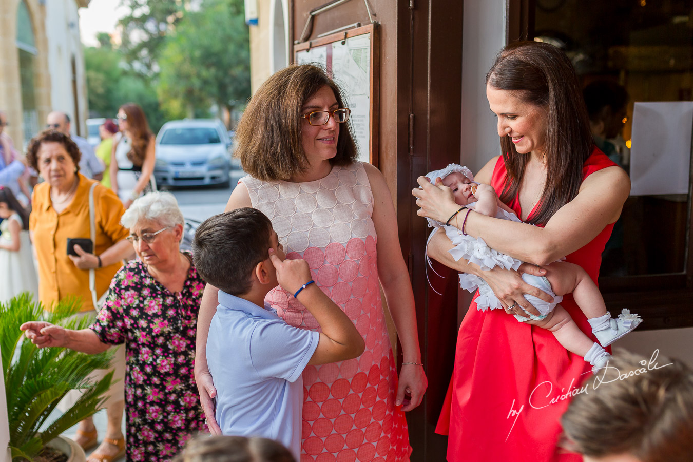 Baptism Photograher in Nicosia - Chrisanti's Christening by Cristian Dascalu - 27
