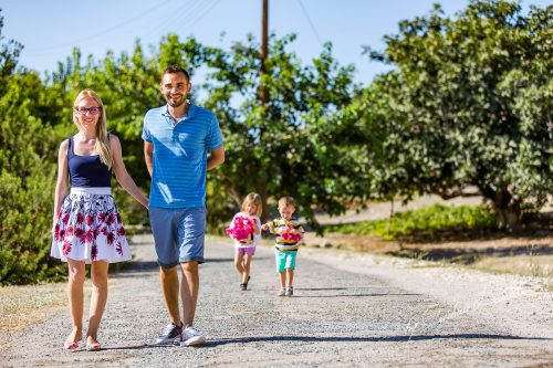 Family Photo Shoot at Amathus | Emma And Andy Discover The Joy of Family Vacations