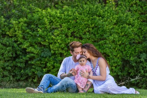 A Family Photo Session in Nicosia With Doros, Natalie & Arianna | The Miracle of Life