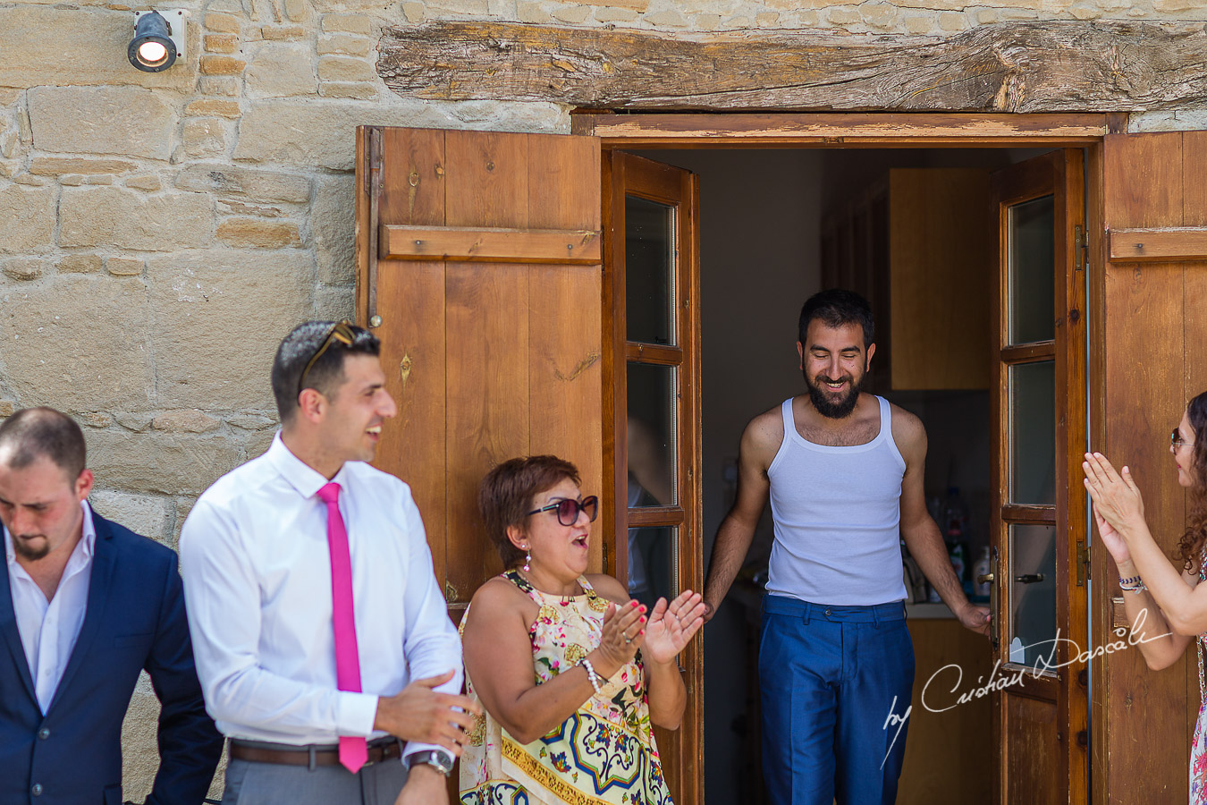 Storytelling wedding photography image captured in Tochni Village in Larnaca district of Cyprus by wedding Photographer Cristian Dascalu