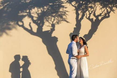 Dreamy Wedding at Pernera Beach Hotel | Catalina & Cosmin Are A Vision in White