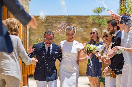 A Touching Wedding at Four Seasons Limassol | The Great Journey of Joanna & Karim