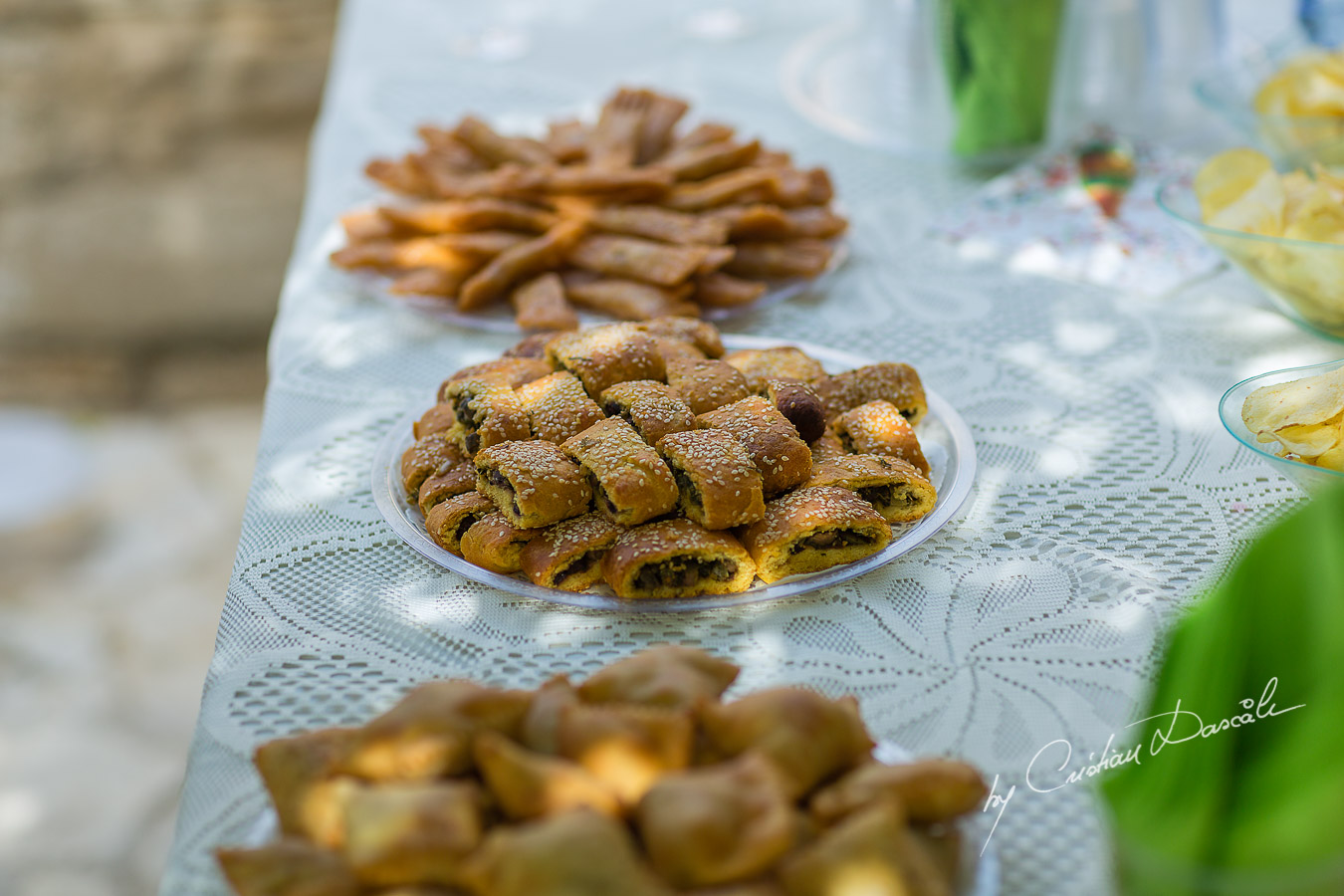 Traditional food captured at Traditional Cyprus Wedding in Tochni, Larnaca.