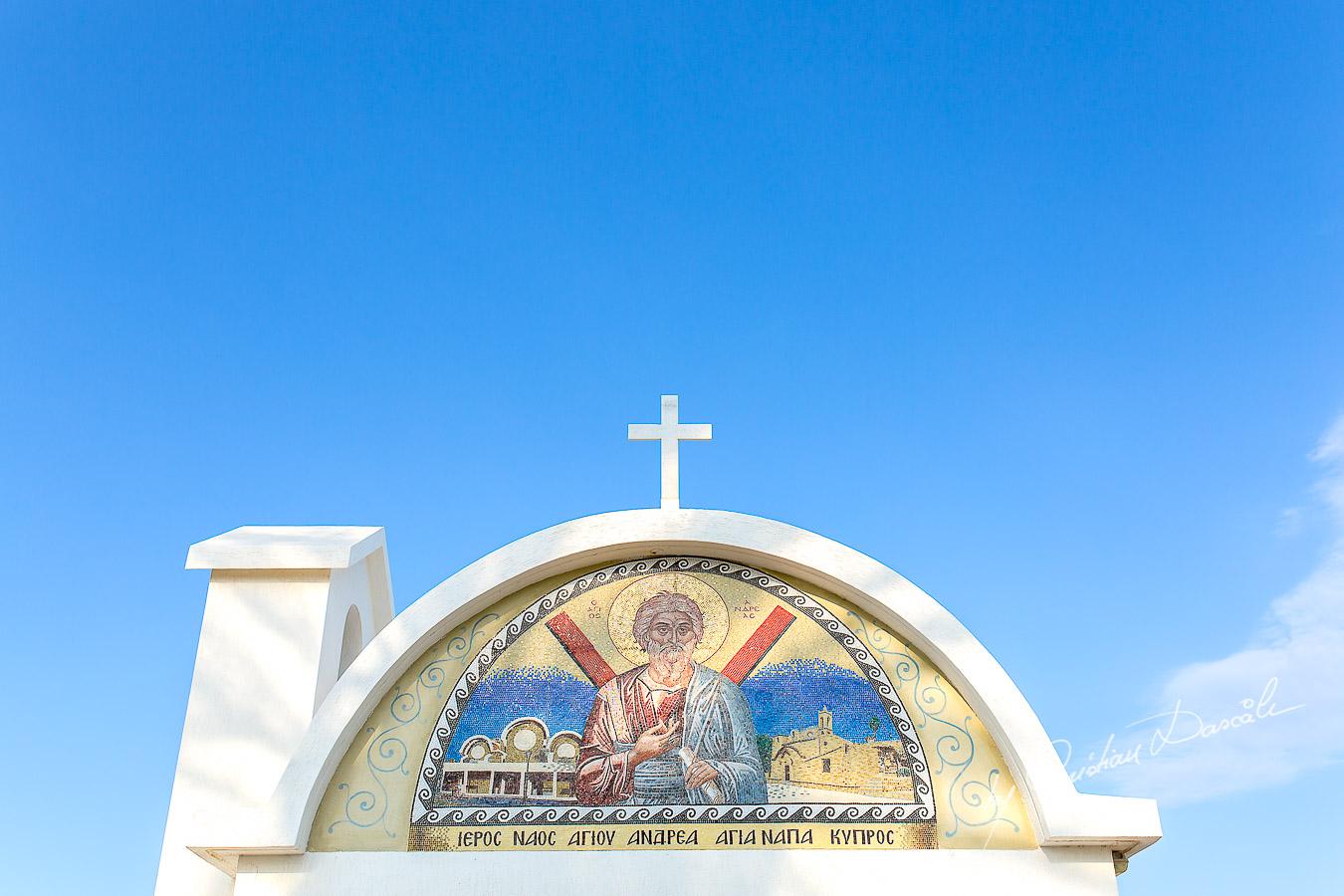 Beautiful church captured during a wedding in Ayia Napa, Cyprus by Cristian Dascalu.