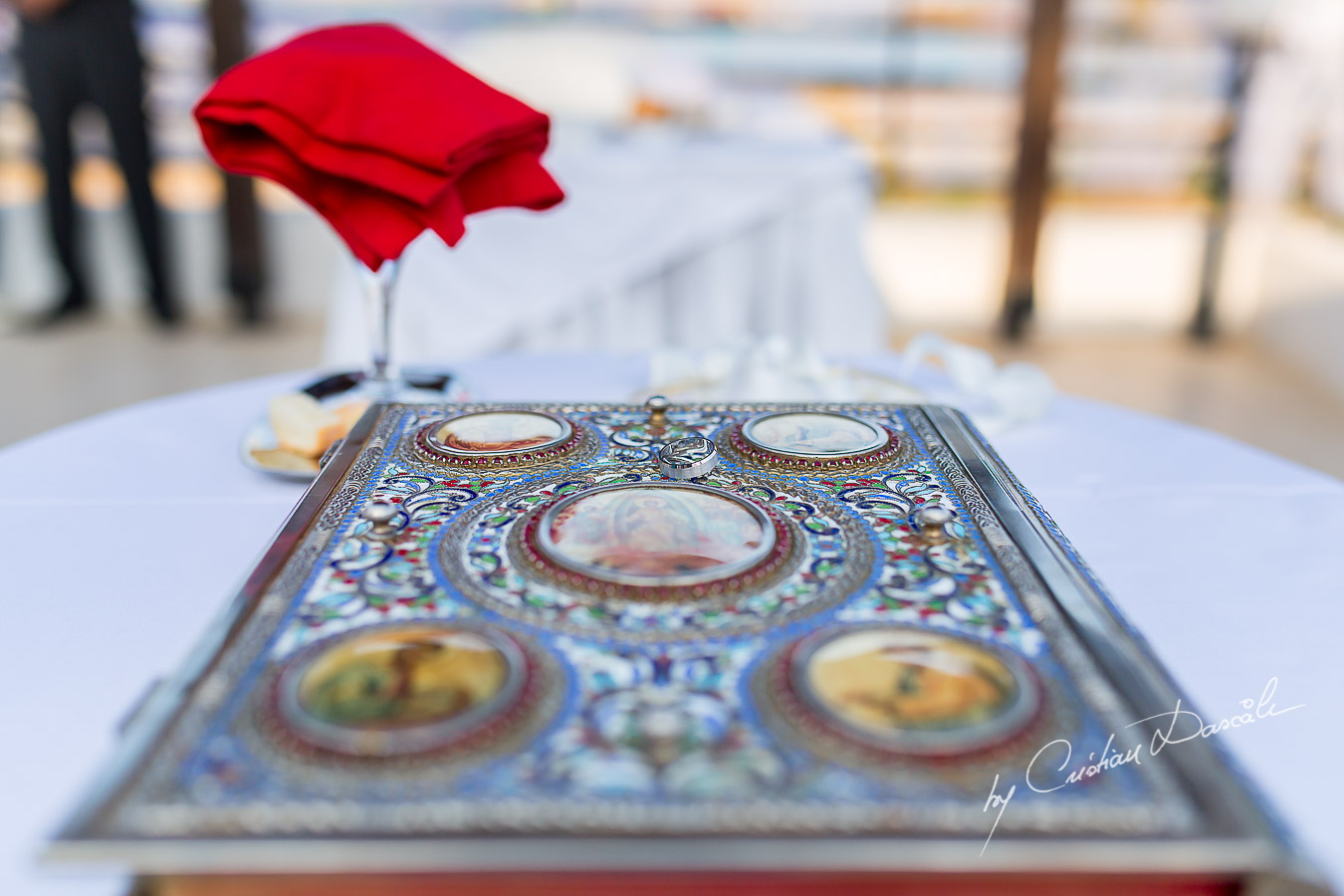 Wedding details captured at a wedding in Ayia Napa, Cyprus by Cristian Dascalu.