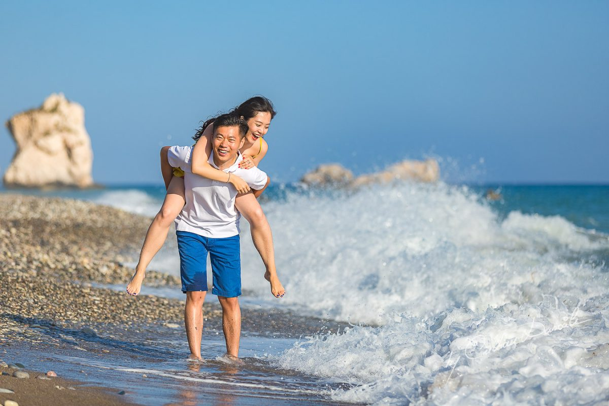 Romantic Beach Photography In Cyprus With Hongzhen And Song   Capture My Heart