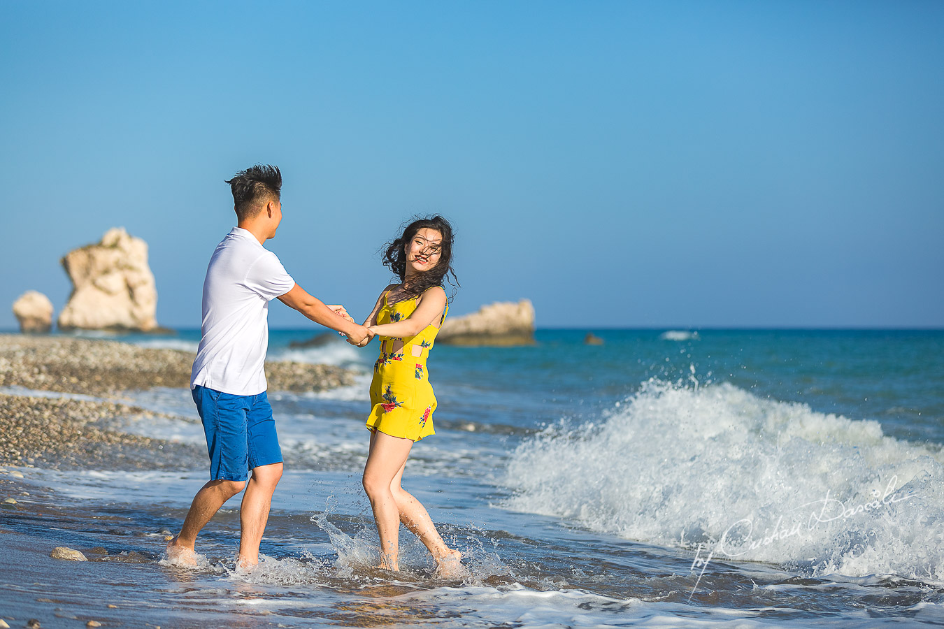 Beautiful moments captured by Cristian Dascalu at Petra Tou Romiou, Cyprus.