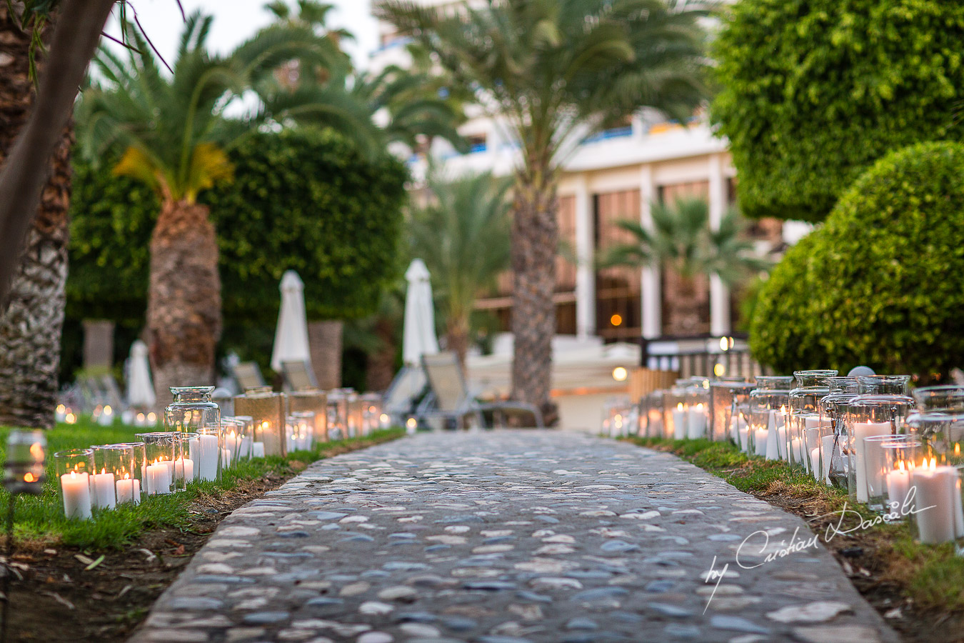 Lovely wedding details captured at an elegant and romantic wedding at Elias Beach Hotel by Cristian Dascalu.