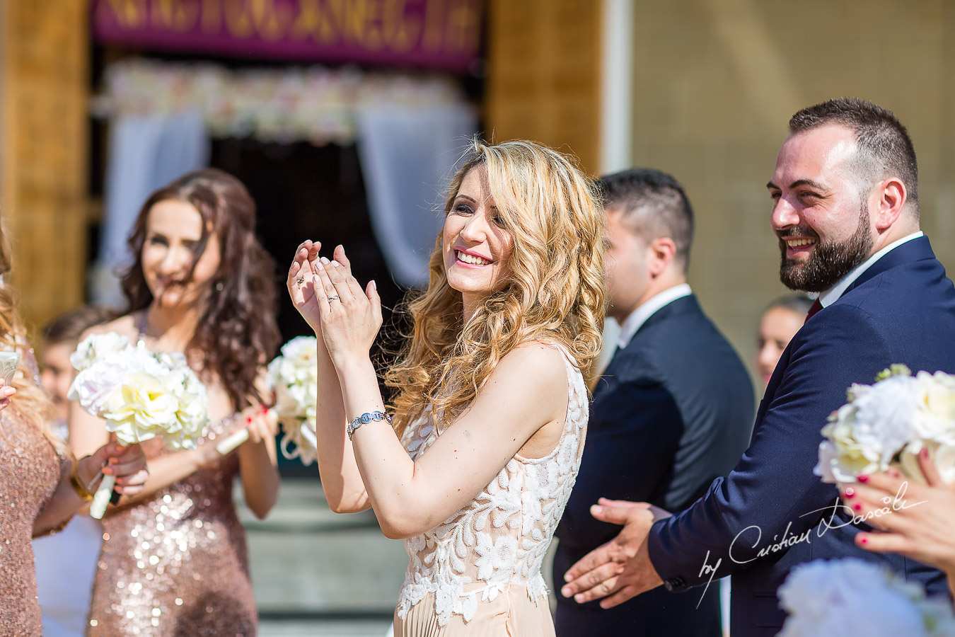 Wedding moments photographed at a wedding in Nicosia by Cyprus Wedding Photographer Cristian Dascalu