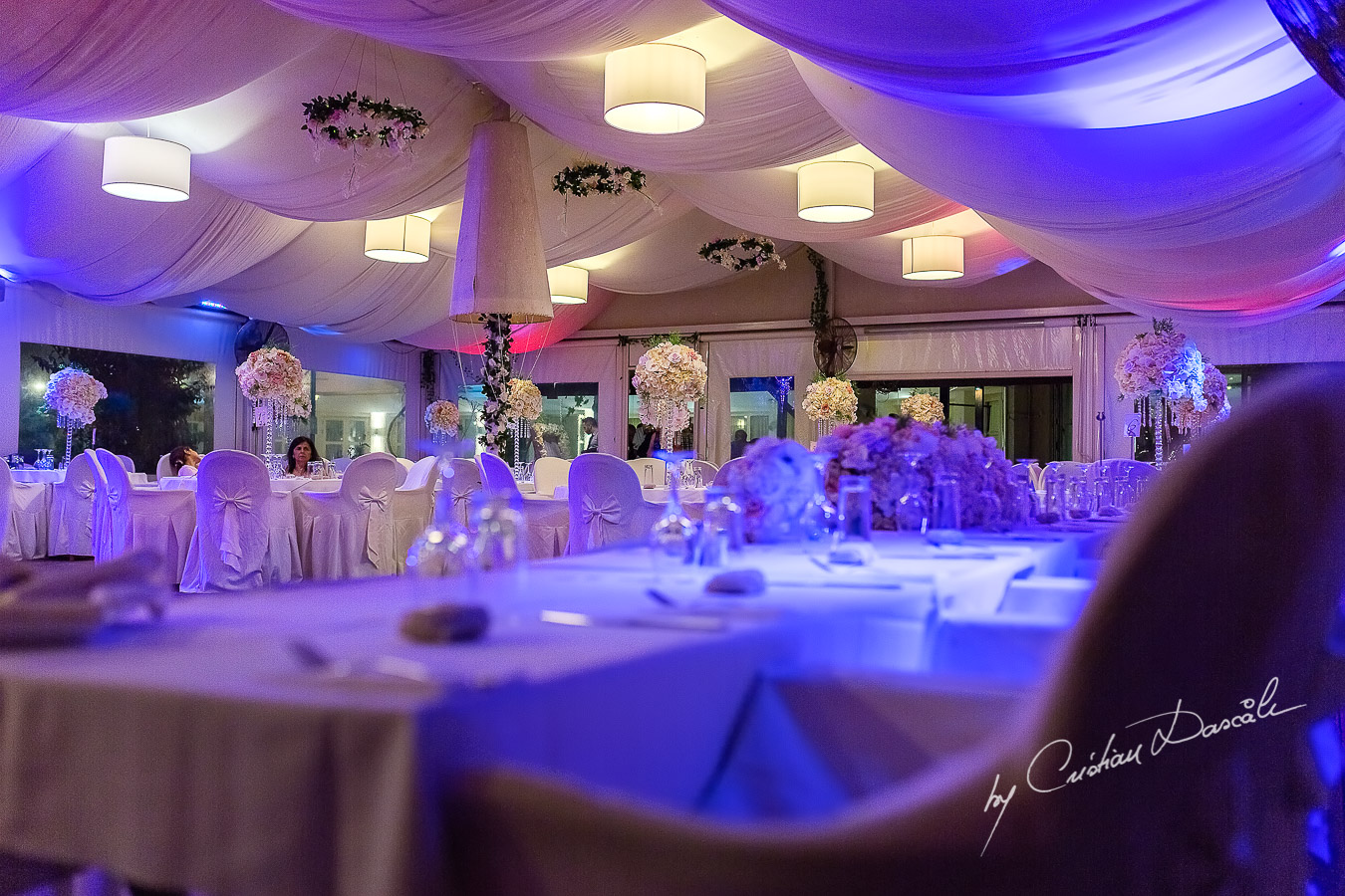 Venue details photographed at a wedding in Nicosia by Cyprus Wedding Photographer Cristian Dascalu