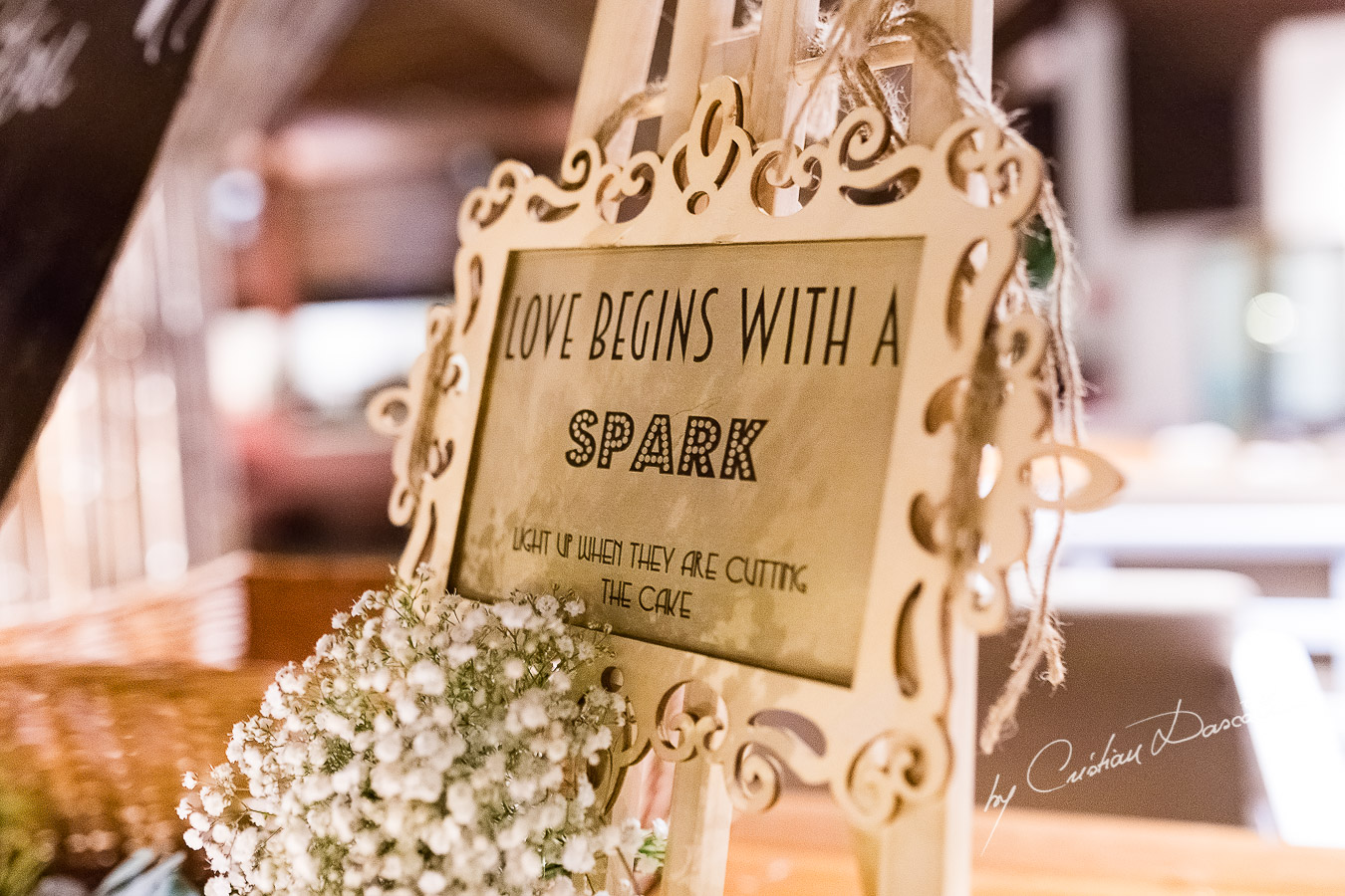 Wedding Decorations and Details photographed as part of an Exclusive Wedding photography at Grand Resort Limassol, captured by Cyprus Wedding Photographer Cristian Dascalu.