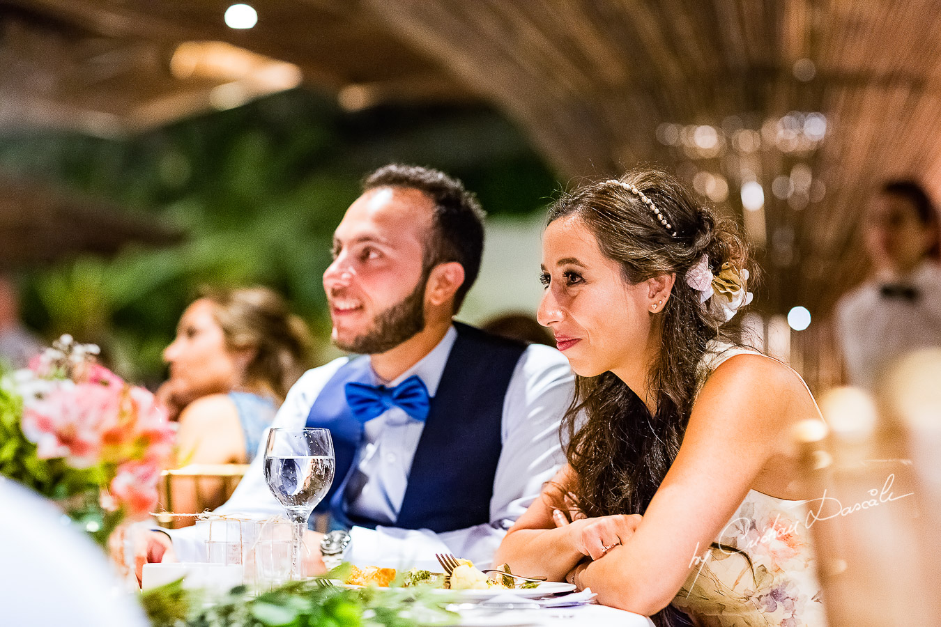 Emotional moments during speeches photographed as part of an Exclusive Wedding photography at Grand Resort Limassol, captured by Cyprus Wedding Photographer Cristian Dascalu.