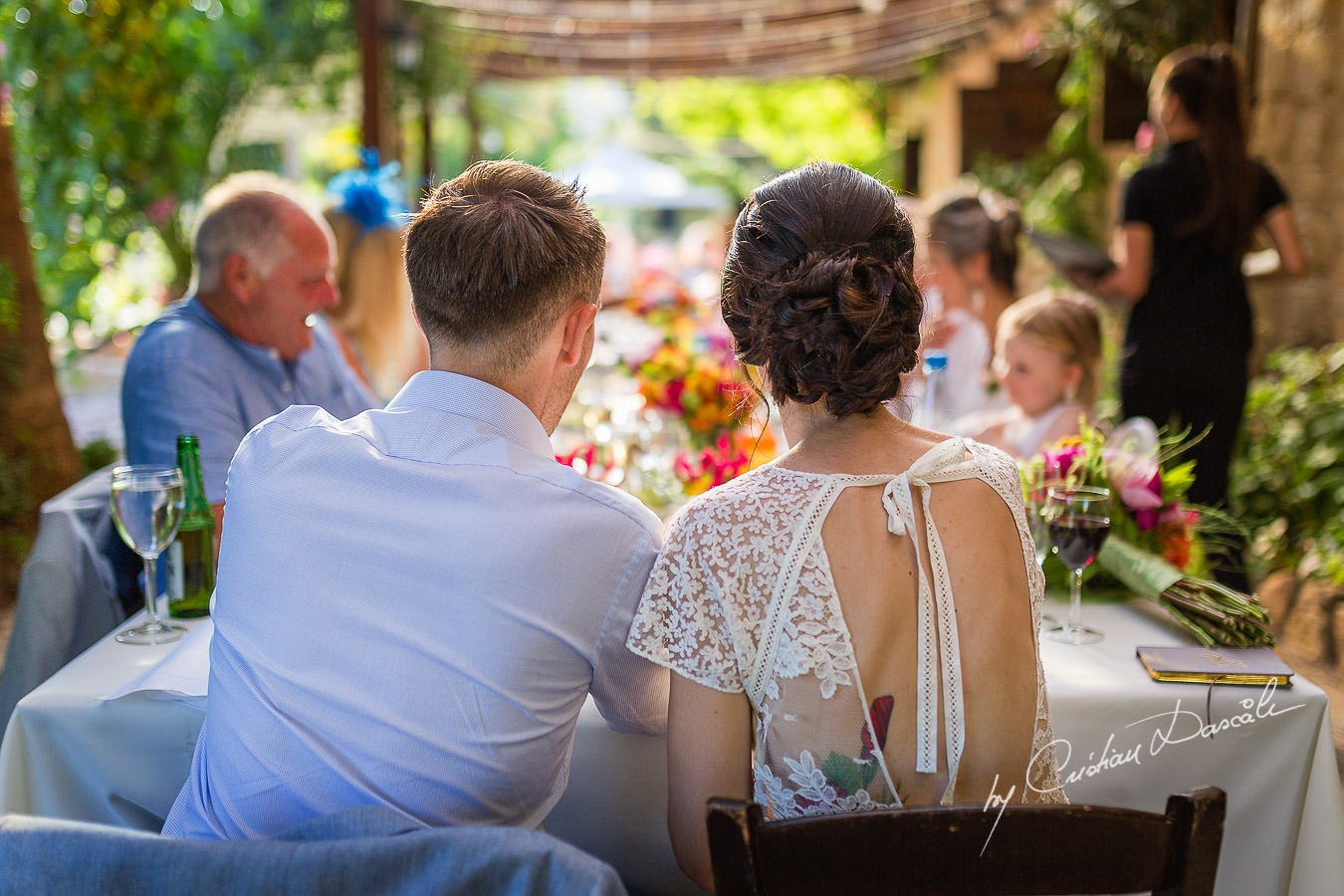 A beautiful wedding day at the Vasilias Nikoklis Inn in Paphos, captured by Cristian Dascalu. Post-Ceremony moments.