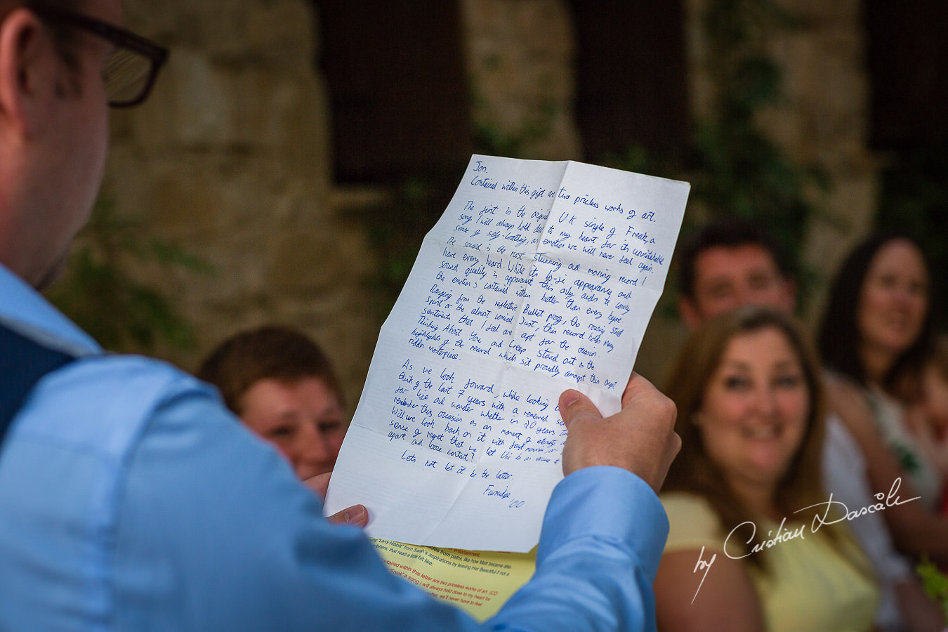 A beautiful wedding day at the Vasilias Nikoklis Inn in Paphos, captured by Cristian Dascalu. Speeches Moments.