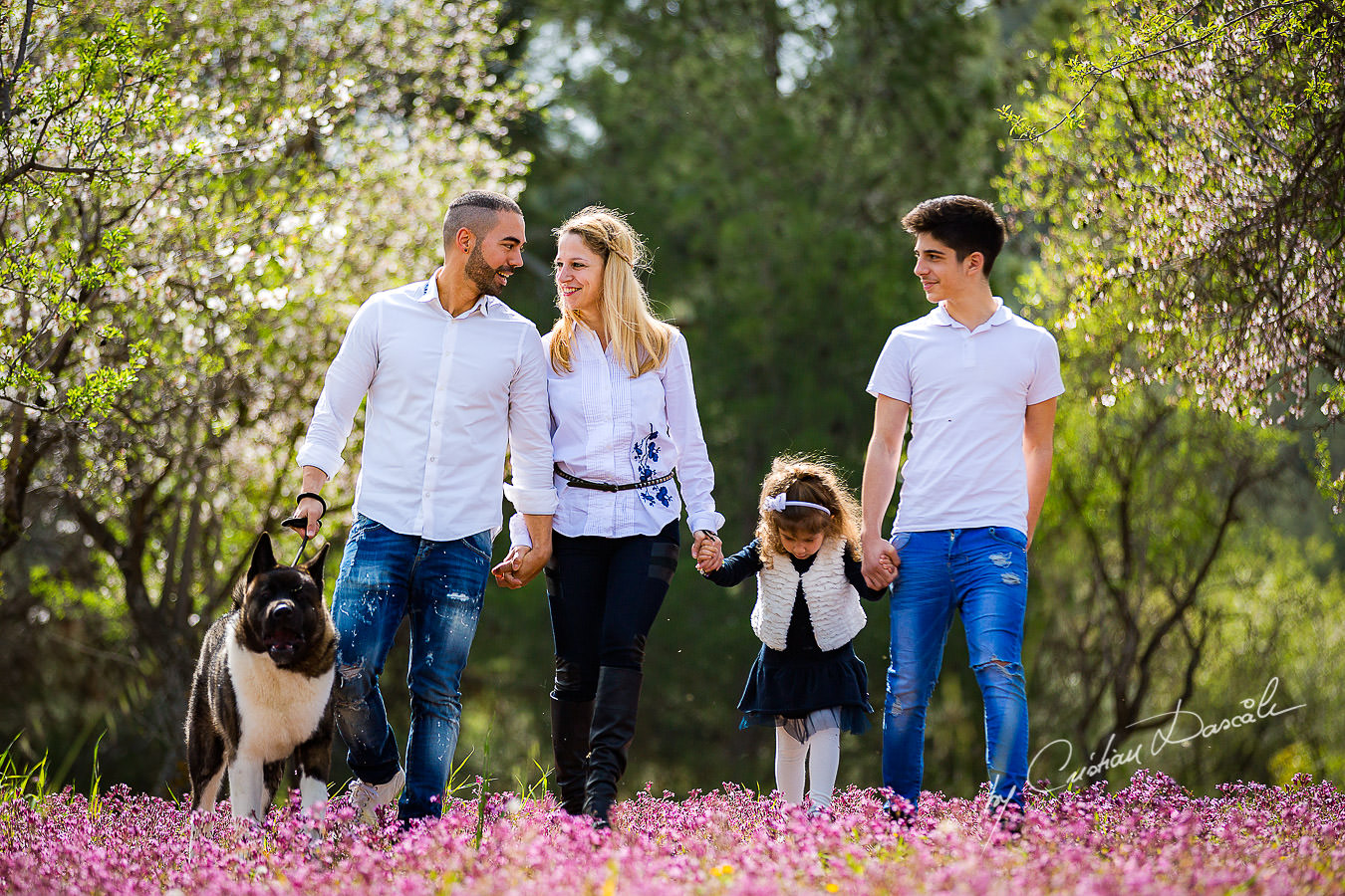 Eleonora and her family photographed in Klirou village, Nicosia district, during an amazing family photography in Nicosia by Cyprus Photographer Cristian Dascalu.
