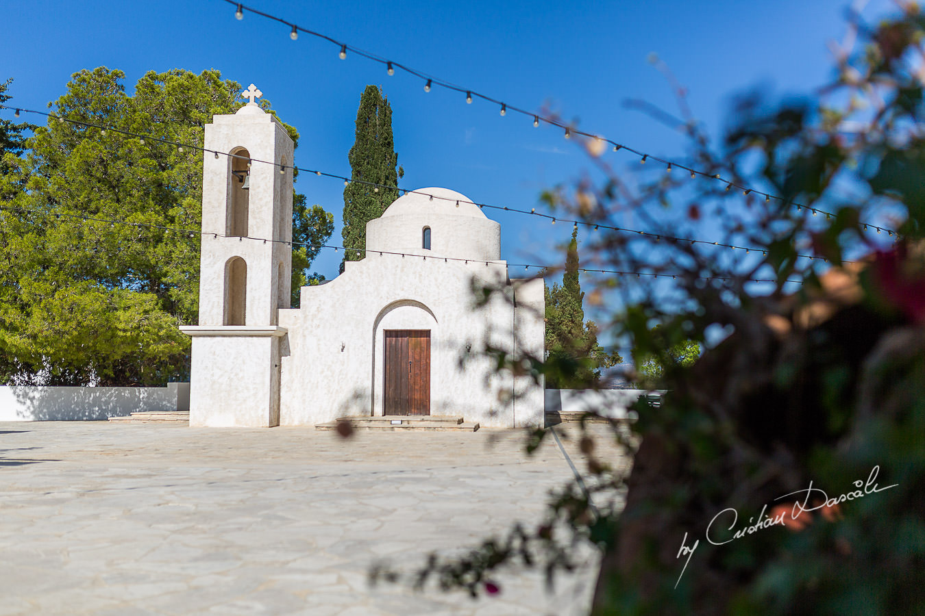 The chapel of the beautiful Anassa Hotel photographed by Cyprus Photographer Cristian Dascalu.