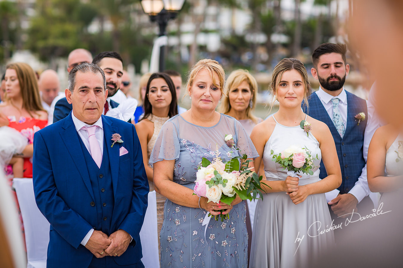 Wedding moments during a Beautiful Wedding at Elias Beach Hotel captured by Cyprus Photographer Cristian Dascalu.