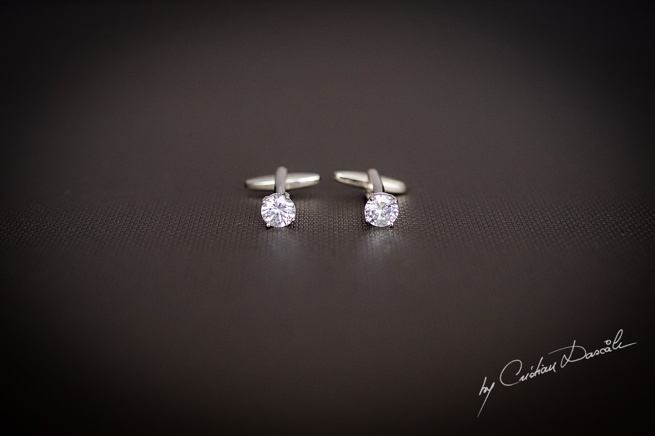 Groom's cuff-links captured during an Exquisite Wedding at Asterias Beach Hotel by Cyprus Photographer Cristian Dascalu.