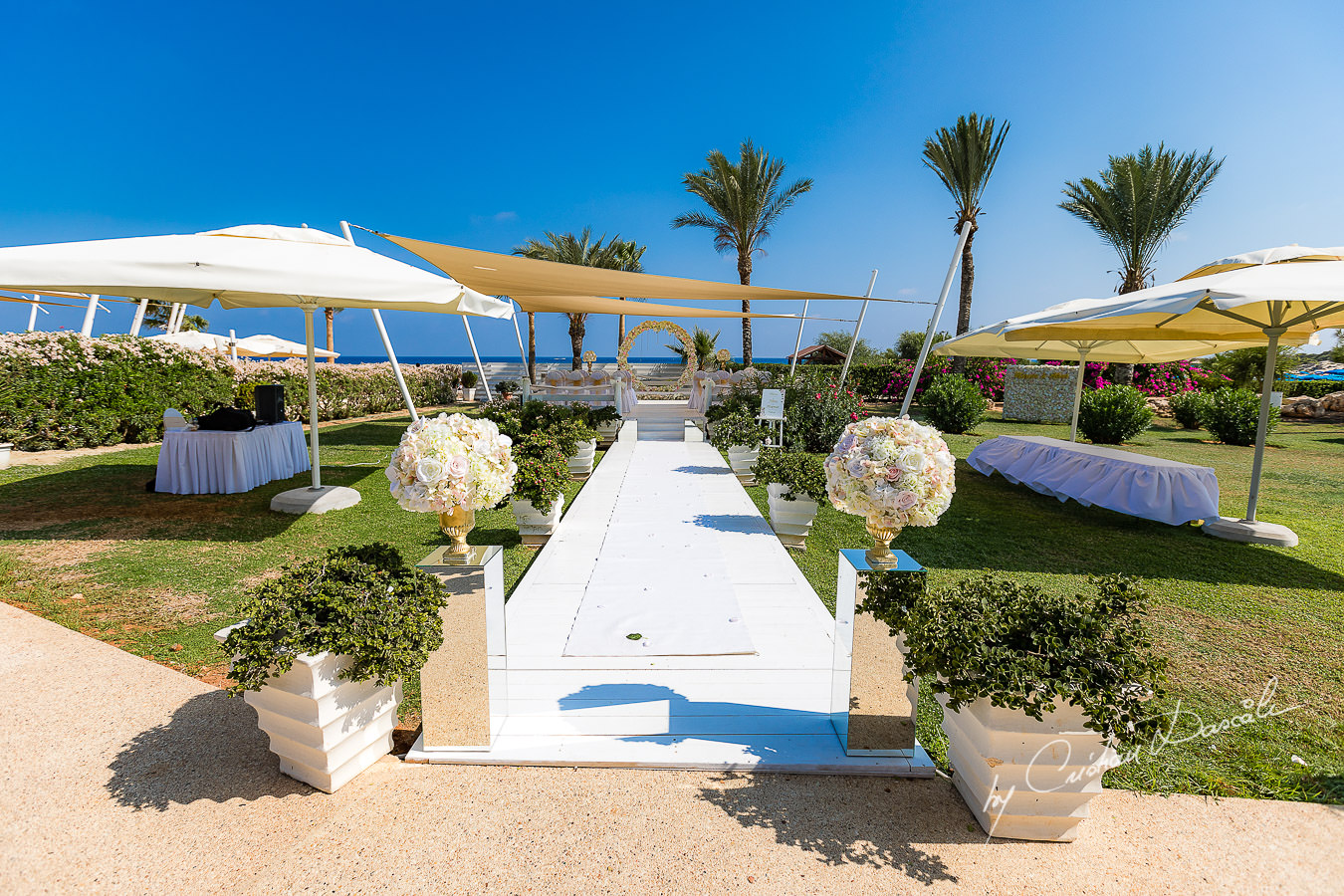 Exquisite Wedding at Asterias Beach Hotel. Photography by Cyprus Photographer Cristian Dascalu.