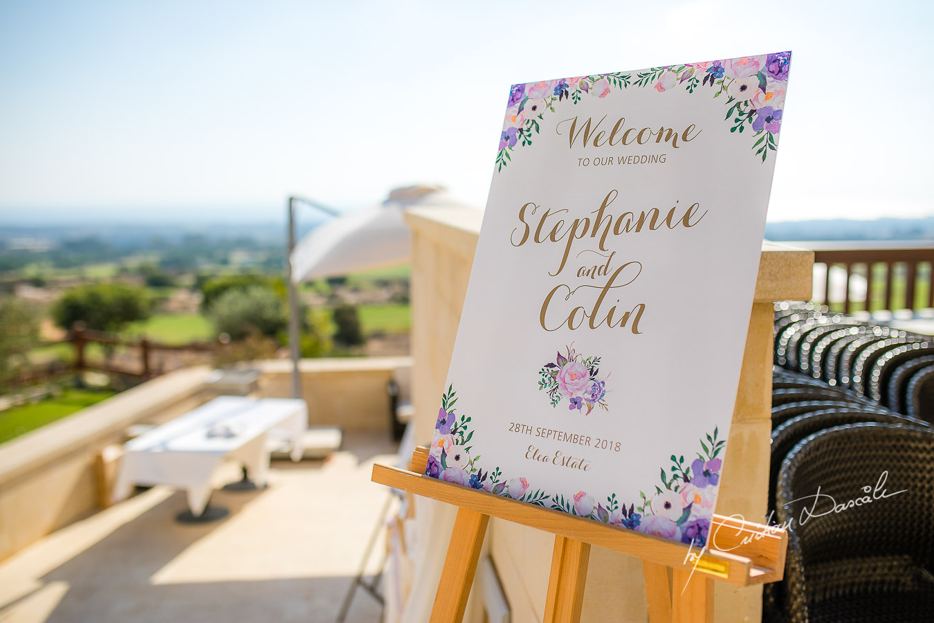 Stylish Wedding Photography at Elea Estate. Moments captured by Cyprus Wedding Photographer Cristian Dascalu